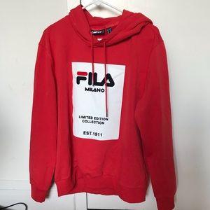 FILA hoodie *WHITE LINE* ❤️❤️❤️